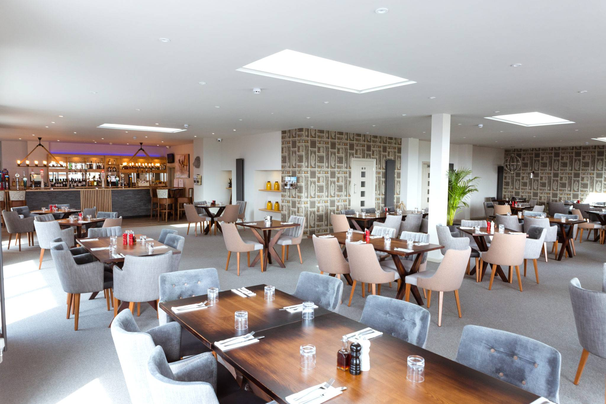 The Deck House Restaurant Bar and Lounge at Silver Bay Holiday village