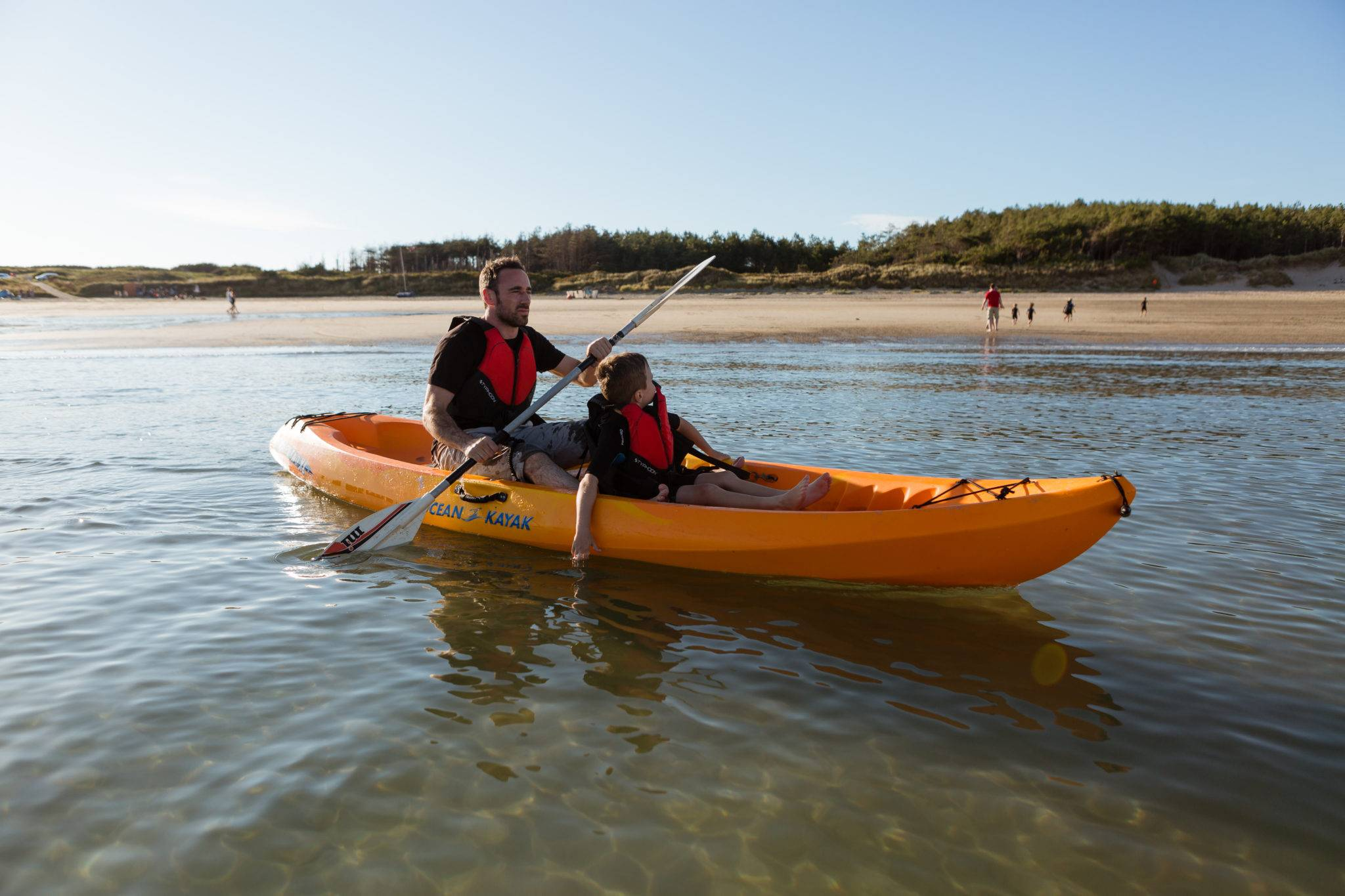 silver-bay-holiday-village-anglesey-busy-bayers-canoe-times-fun