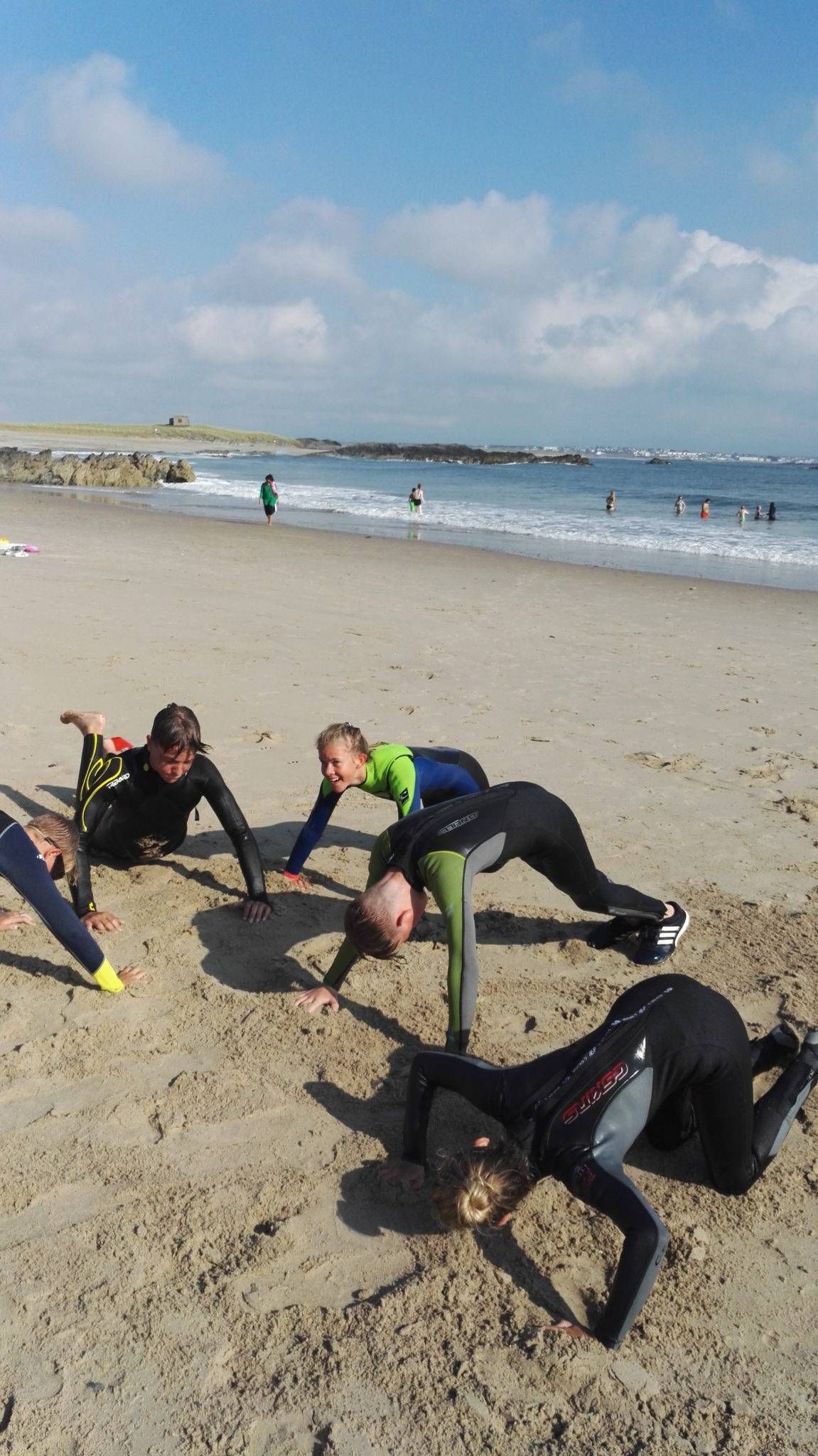 silver-bay-holiday-village-anglesey-busy-bayers-push-ups