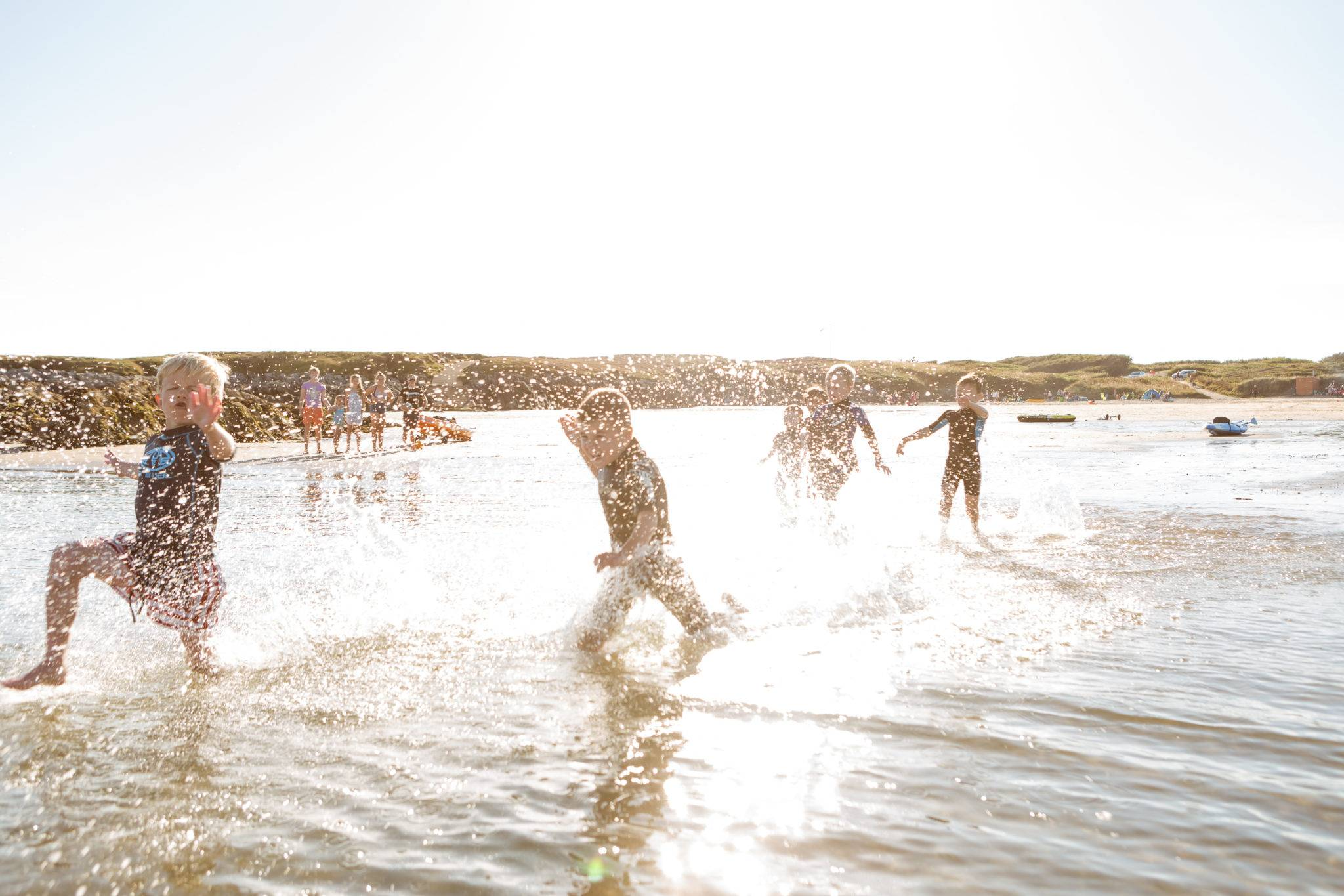 silver-bay-holiday-village-anglesey-busy-bayers-run-splash-ocean