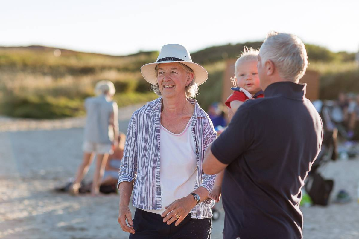 silver-bay-holiday-village-anglesey-family-on-beach