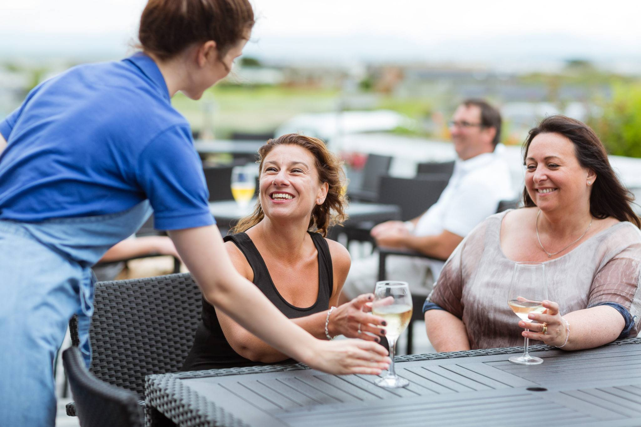 silver-bay-holiday-village-anglesey-the-deck house-drinks-outdoors