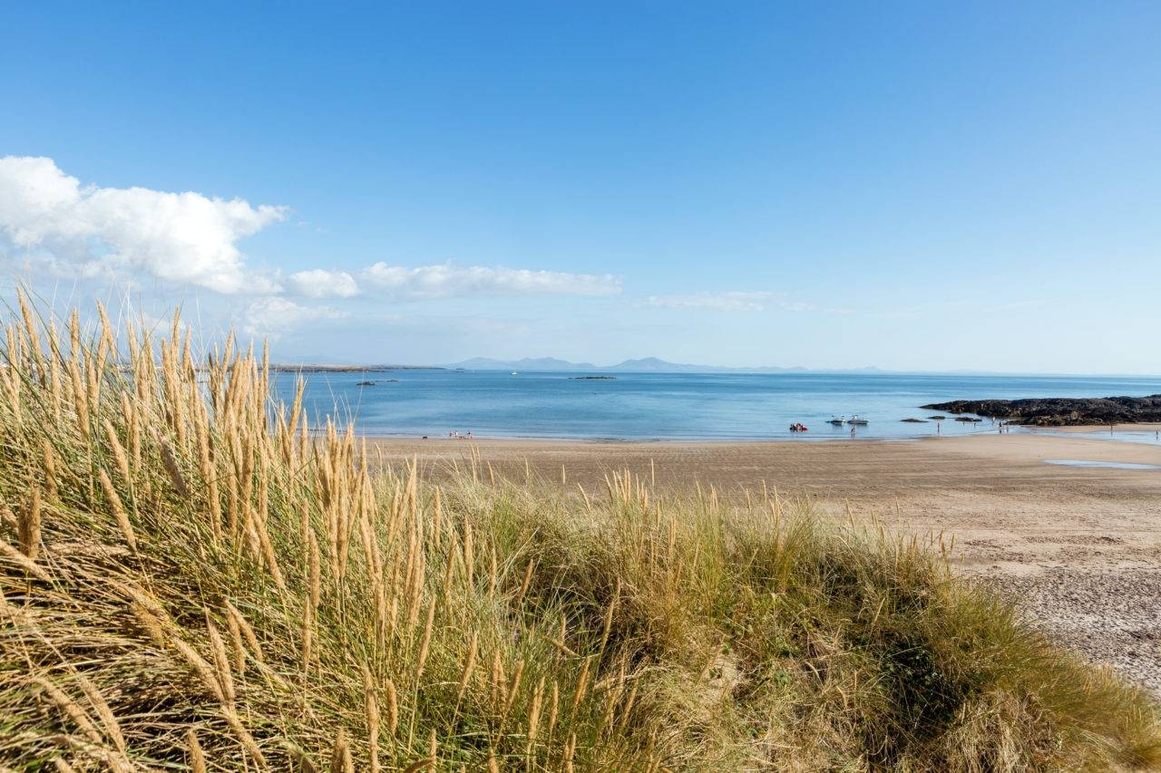 Picture of Silver Bay Beach, Exploring the idyllic world of Anglesey cycle routes,