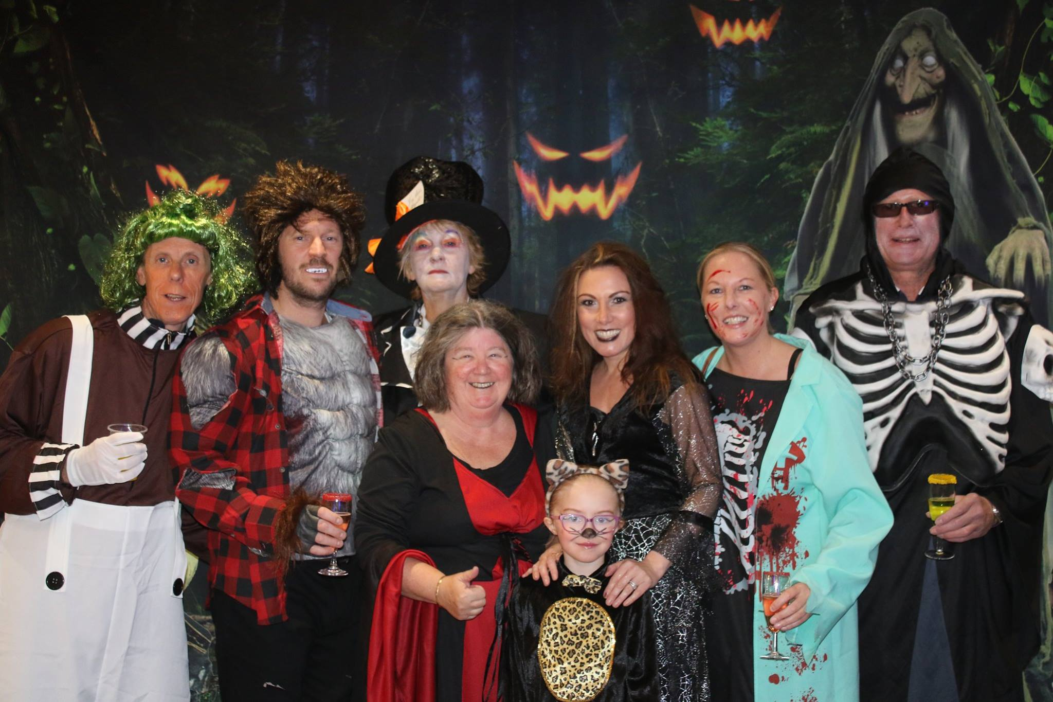 Silver Bay Holiday Village Halloween party