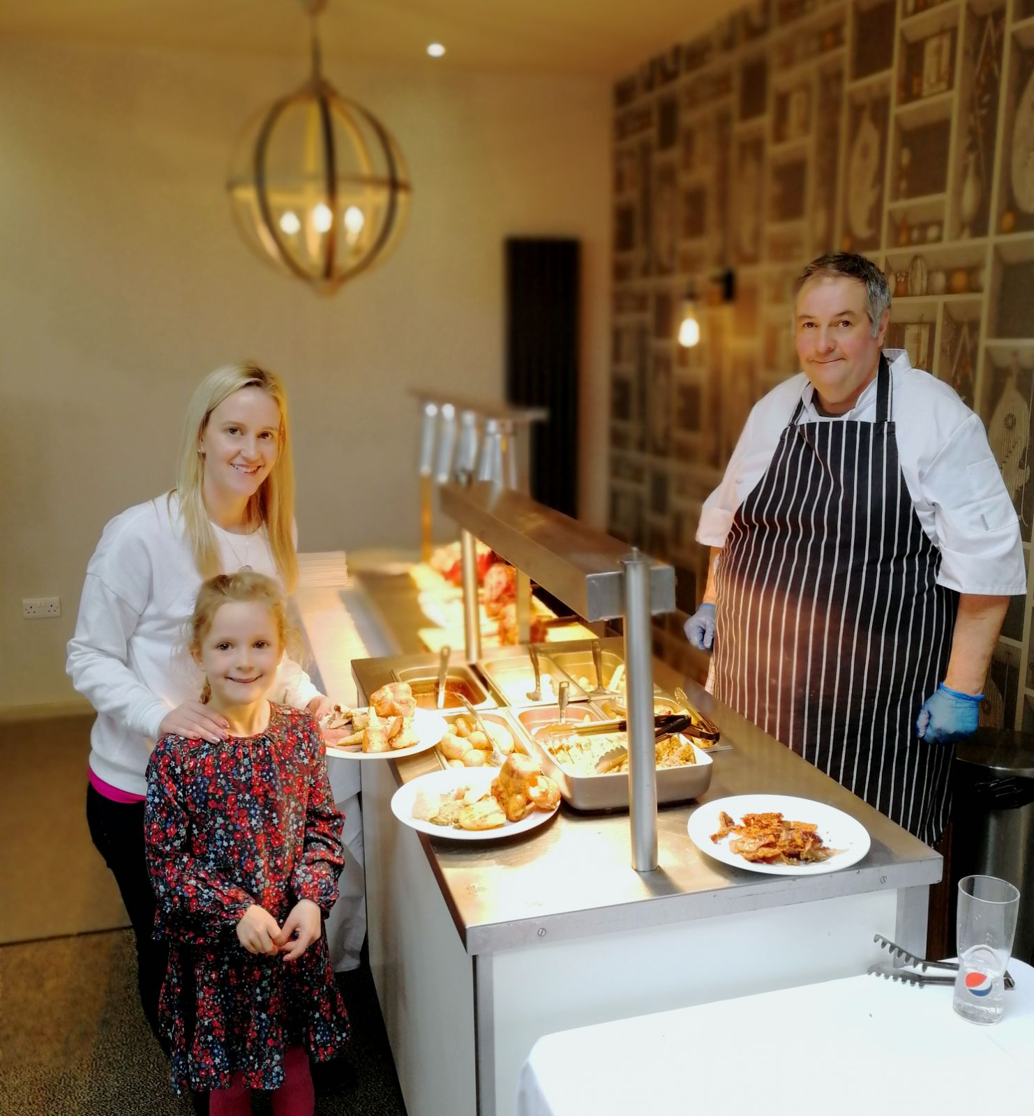 Easter carvery at Silver Bay