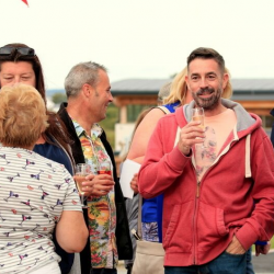 summer party silver bay, anglesey, north wales, holiday village