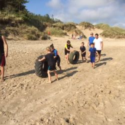 silver-bay-holiday-village-anglesey-busy-bayers-beach-mudder-tyre-challenge