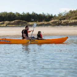 silver-bay-holiday-village-anglesey-busy-bayers-canoeing-silver-bay-beach