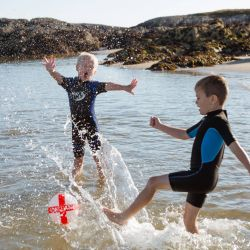 silver-bay-holiday-village-anglesey-busy-bayers-kick-water-fun-ball