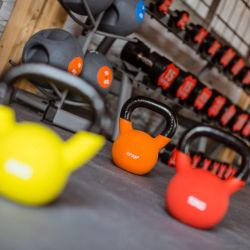 silver-bay-holiday-village-anglesey-spa-and-leisure-kettlebells-in-gym