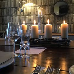silver-bay-holiday-village-anglesey-the-deck house-private-dining-candles