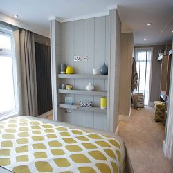 silver-bay-holiday-village-luxury-lodges-anglesey-lookout-dressing-room-bedroom